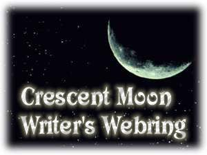 Crescent Moon Writer's Ring